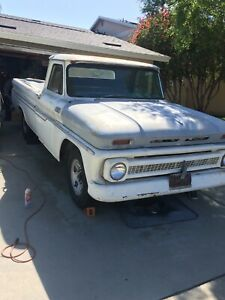 1965 Chevy C20 Fleetside Longbed Pickup Truck Vintage
