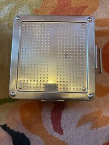 Sterilization Tray Box Case Disinfection Box Surgical Instrument