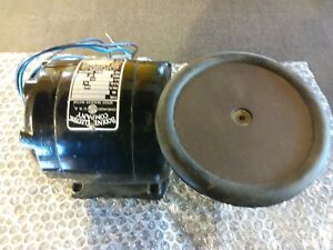 Bodine Gear Motor 115 Vac 1 8 Hp 20 1 Ratio