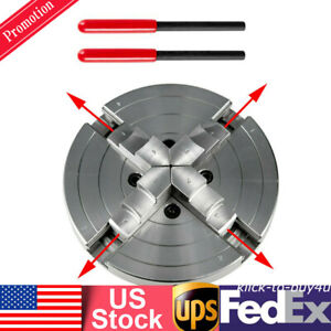 6 4 Jaw Self centering Lathe Chuck 150mm For Cnc Milling Drilling Machine Usa