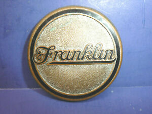 Vintage 1929 Franklin Series 130 Radiator Emblem Enamel Badge Ct27