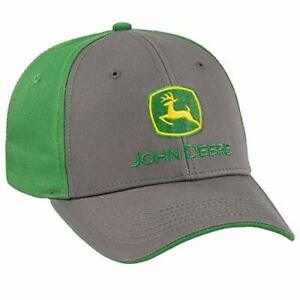 John Deere Authentic Licensed Charcoal And Green Cap Lp69074