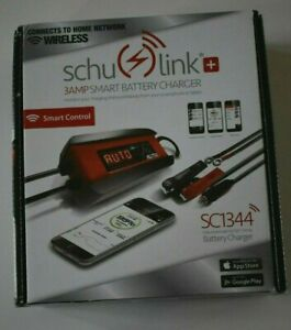 Schumacher Schulink 6 12 Volt 3 Amp Smart Automatic Battery Charger Sc1344