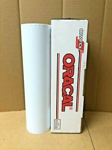 Oracal 651 1 Roll 15 X 10yd 30ft White 010m Matte Sign Vinyl
