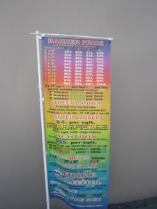 Banner Pole Nobori Pole Only For Banner Up To 24 X 84