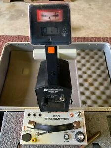 Metrotech 850 Utility Line Tracer Cable Pipe Locator 5120 4 Clamp With Case