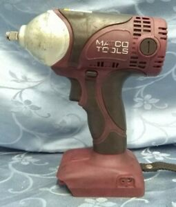 Matco Tools Mcl2038iw Infinium 20v 3 8 Impact Wrench Tool Only