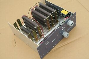 Resistive Load Bank With 13 15 Ohm 2 1 5 Ohm Rib wound Power Resistors