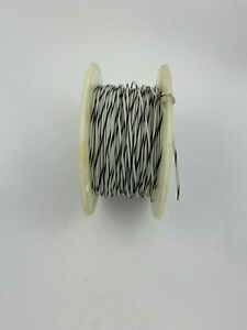 18awg White brown Tefzel Milspec Wire