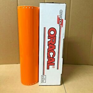 Oracal 651 1 Roll 15 X 10yd 30ft Pastel Orange 035 Gloss Sign Vinyl