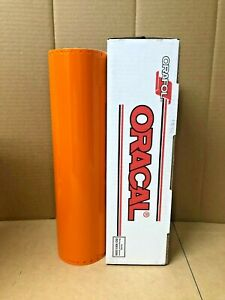 Oracal 651 1 Roll 15 X 10yd 30ft Light Orange 036 Gloss Sign Vinyl