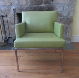 Vintage Mid Century Modern Florence Knoll Style Armchair
