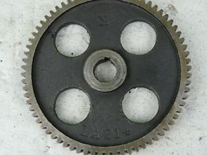 Original Logan 10 Inch Lathe 72 Teeth Gear La 214