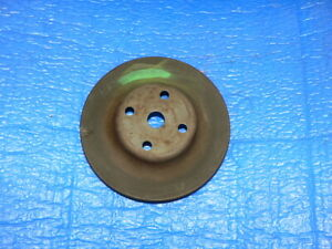 Mopar Dodge Charger Superbird Plymouth Chrysler Water Pump Pulley 3698907 Oem