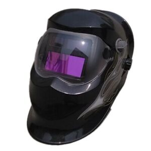 Miller Elite Auto Darkening Welding Helmet In Dark Black Shade With Designer Gra