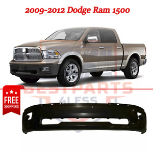 New Front Bumper Primed W Fog Lamp Holes 2009 2012 For Dodge Ram 1500