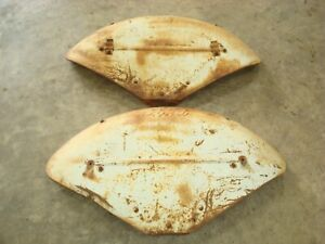 1952 Ford 8n Tractor Scripted Fenders