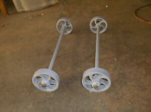 Maytag Small Engine Truck Cart 4 Wheels Axles Hit Miss Engine
