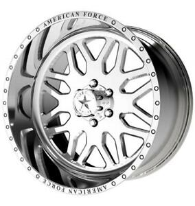 22x10 American Force Trax Ss Forged Wheels Rims Ford F150 Expedition 6x135
