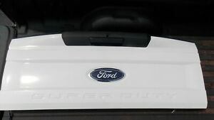 Used Ford 2017 2019 F250 F350 Super Duty Tailgate White