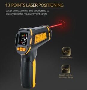 Temperature Meter Digital Infrared Thermometer Laser Non contact Pyrometer