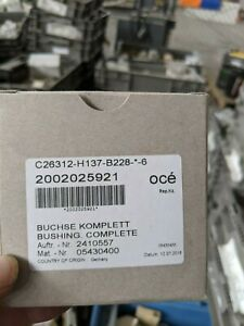 Oce C26312 h137 b228 6 Bushing Complete new For Oce Printers