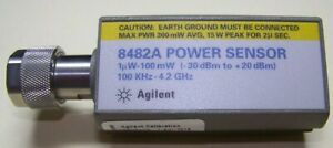 Agilent 8482a Power Sensor 1mhz 4ghz 3uw To 100mw Tested And Ready For Work