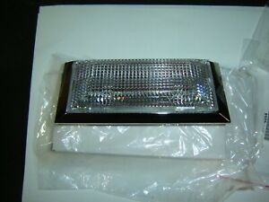 1973 1979 Ford Truck Bronco Mustang Interior Led Clear Lens Chrome Dome Light