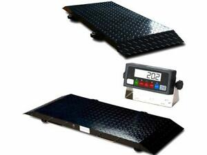 Multi Purpose Portable Floor Scale To Weigh Drum vet livestock 2000 X 2 Lb