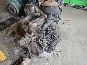 Hercules D198 Diesel Engine Low Hours Runner D 198 Generator Military