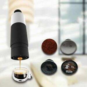Mini Hand Pressure Portable Capsules Coffee Machine Cooking Cup Manual 21 Bar $54.80