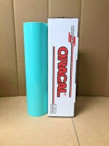 Oracal 651 1 Roll 15 X 10yd 30ft Mint 055 Gloss Sign Vinyl