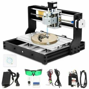 Pro 3018 Cnc Machine 3 Axis Router Engraving Pcb Wood Diy Mill 2500mw Laser Head