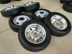 19 5 Ford F 450 Dually F 550 2018 2019 2020 Rims Wheels Tires Ram 4500 Oem New