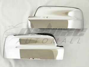Chrome Top Mirror Covers For 2019 20 21 Dodge Ram 1500 All New No Turn Signal
