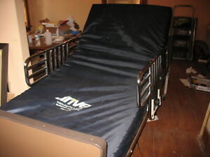 Drive Electric Hospital Bed With Mattress And Remote Control nice