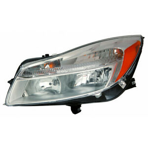 Fits 2011 2012 2013 2014 Buick Regal Head Light Assembly Driver Side capa