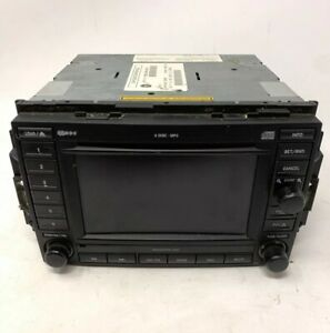 04 07 Jeep Dodge Chrysler 6 Cd Dvd Gps Navigation Stereo Radio Rec 56038646am