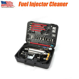 New Fuel Injector Cleaner Non Dismantle Air Intake System Nozzle Cleaning Tool