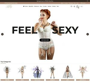 Dropshipping Website For Sale Own A Lingerie Store Ecommerce Website Business