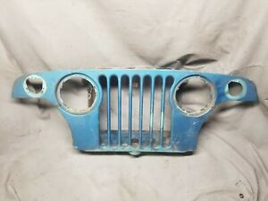 1966 1971 Jeepster Commando Grille Radiator Support Grill Kaiser Jeep Oem
