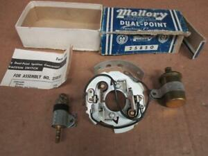 56 60 Dodge Chrysler Plymouth Mallory Dual Point Conversion Kit 25850