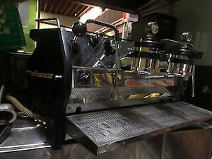 Marzocco Strada Mp 2 Group Excellent Condition Custom Red