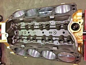 347ci Ford Short Block race Prep makes 500 hp Forged Pistons Pump Gas