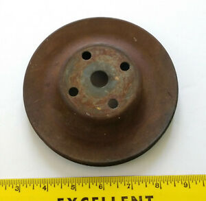 Original Mopar Dodge Plymouth Single Groove Water Pump Pulley 5 3 4 Wide