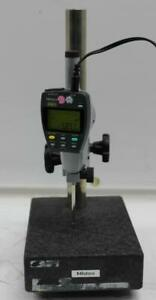 Mitutoyo Granite Comparator 215 151 Stand W Electronic Digital Indicator