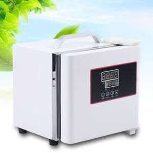 Portable Digital Incubator Electric Thermostat Portable Microbial 110v New Usa