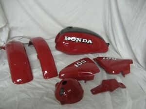Honda Fire Red Vintage Motorcycle Paint Aerosol Pint Quart