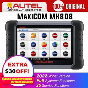 2020 Update Autel Mk808 Obd2 Scanner Auto Car Diagnostic Scan Tool Key Coding