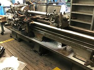 Axelson Lathe 18 78 In Good Working Condition